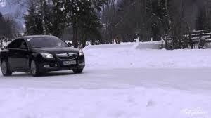 opel winter snow drift with insignia opc in the opel wintercamp youtube