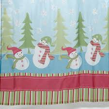 Snowman Shower Curtain Target Snowman Shower Curtain Set Snowman Shower Curtain Set