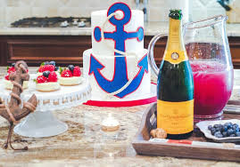 Drinks For Baby Shower - kara u0027s party ideas nautical baby shower birthday party kara u0027s