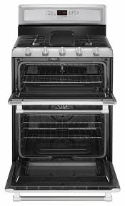 maytag mgt8820ds 30 inch freestanding double oven gas range with 5