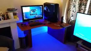 led light desk l led desk lighting desk ideas