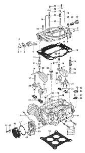 carter afb carburetor exploded view