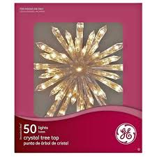 general electric 50 light 13 5 tree topper