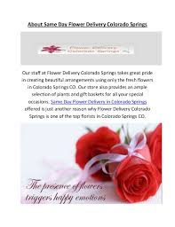 flower delivery colorado springs same day flower delivery in colorado springs co
