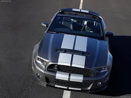 mustang shelby gt500 convertible ford mustang shelby gt500 convertible 2010 picture 7 of 21