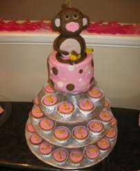 monkey baby shower cake baby shower cupcakes pictures and ideas