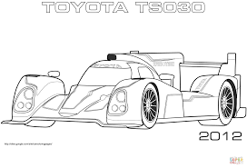 2012 toyota ts030 coloring page free printable coloring pages