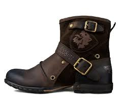 s boots with buckles mens buckle boots genuine leather brand business