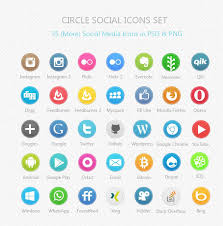 30 free social media icons 2017 in psd and vector