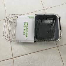 dish drainer for small side of sink find more new small side sink dish rack for sale at up to 90 off