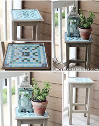Diy Mosaic Table Diy Mosaic Table Upcycled Treasures