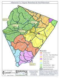 Map Of Charlottesville Va Environmental Stewardship Rivanna Authorities