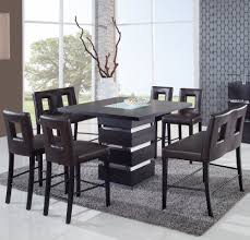 Dining Room Bar Table by Global Dg072bt Square Bar Table In Wenge Beyond Stores