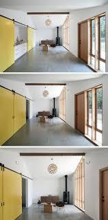 interior kitchen doors 10 exles of barn doors in contemporary kitchens bedrooms and