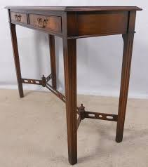 Mahogany Console Table Console Table In Antique Georgian Style Sold