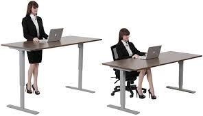 Electronic Height Adjustable Desk Desk Risers U0026 Sit To Stand Desk Converters