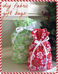 present bags how to make your own fabric gift bags fabric gift bags green