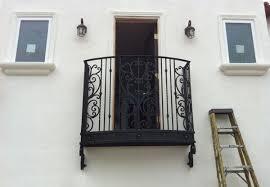 orange county ca ornamental iron balcony stair railings wrought