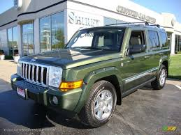 jeep green 2006 jeep commander limited 4x4 in jeep green metallic 297307