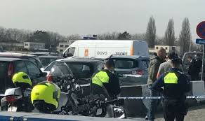 belgium attack french tunisian arrested after driving a car into