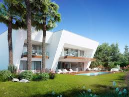 architectural rendering architectural visualization of a villa