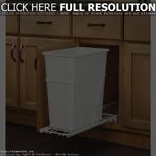 wood wooden kitchen trash can wastebasket recycling bin 13 gallon
