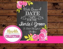 Bridal Shower Signs Chalk Board Sign Bridal Shower Sign Wedding Chalk Sign