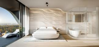 Residential Interior Designers Melbourne Zaha Hadid Architects Unveils Designs For Wave Inspired Melbourne