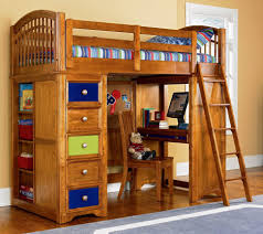 Wooden Bunk Bed With Futon Bedroom Queen Bunk Bed Wooden Bunk Beds Loft Bedroom Set With
