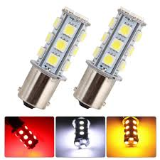 Led Light Bulbs For Travel Trailers by 1156 Car Light Car Rv Trailer Ba15s 5050 18smd Led Light Bulb 7503