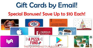 send gift cards gift card bonuses send by email get up to 10 bonus