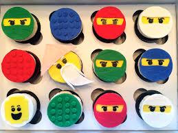 ninjago cake toppers much kneaded lego ninjago cupcakes