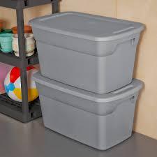 sterilite 30 gallon tote box walmart com