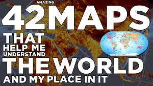 Different Types Of Maps 42 Amazing Maps Youtube
