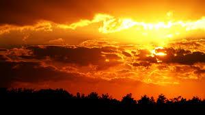 orange color shades download wallpaper 1920x1080 decline orange colors shades sky
