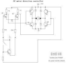 how to control a dc motor to run in both directions 3 steps
