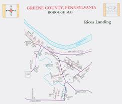 Washington County Pa Map by About Greene County Communities History U0026 Government Pennsylvania