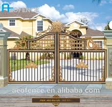 high quality ornamental aluminum fencing and beautiful craft gate