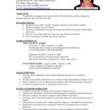 modern resume exles for nurses stirring nursing resumeormat exeptional new grad sle registered