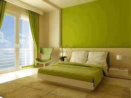 bedroom interior design ideas black wooden nightstand light orange
