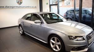 used audi used audi a4 2 0 tdi s line 4dr 168 bhp youtube