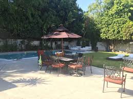 Outdoor Furniture In Los Angeles Beverly Hills Guest House Los Angeles Ca Booking Com
