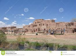 Pueblo Adobe Houses Taos Pueblo In New Mexico Stock Photo Image 51459367