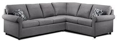 King Koil Sofa Bed by Tambora 2 Piece Sofabed Sectional Grey Leon U0027s