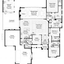 mediterranean floor plans with courtyard home architecture luxury modern courtyard house plan custom