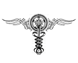 infamous 2 cole macgrath neutral caduceus tattoo by linkmaster101