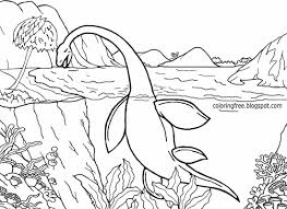 ideas landscape drawing dinosaur scene coloring pages free