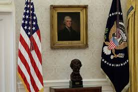 do you like the new oval office makeover president trump just got
