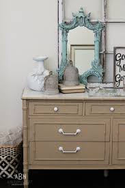 Furniture Paint Simple Chalk Furniture Paint Dresser Tutorial With Just A Few Steps