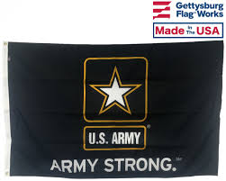 Us Military Flags For Sale U S Army Strong Flag